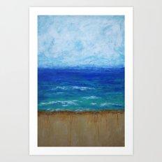 Beach III Art Print