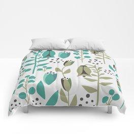 Tulip garden Comforters
