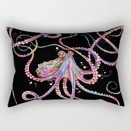 Reverse Drunk Octopus Rectangular Pillow