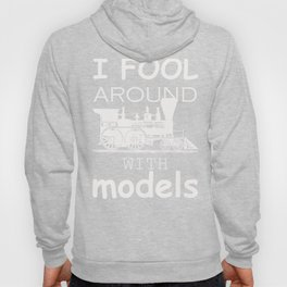 Model Train Hobby Trains Enthusiast product Hoody