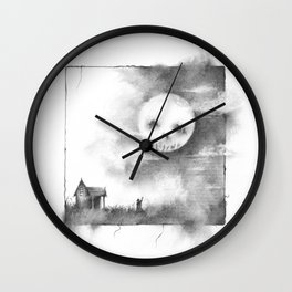 The Man in the Moon Wall Clock