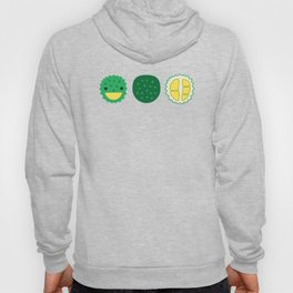 Dotty Durians II - Singapore Tropical Fruits Series Hoody