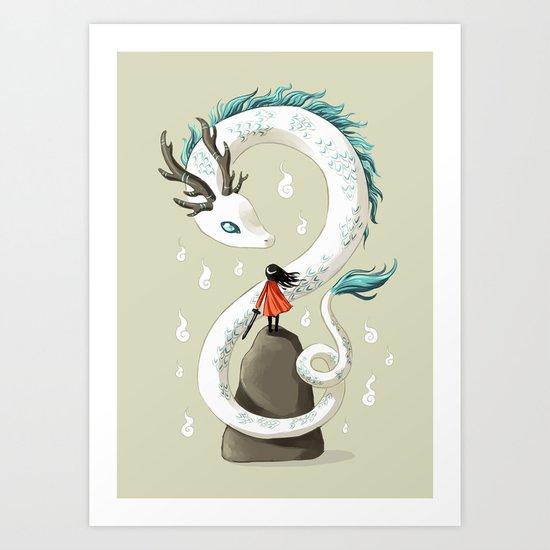 Dragon Spirit Art Print