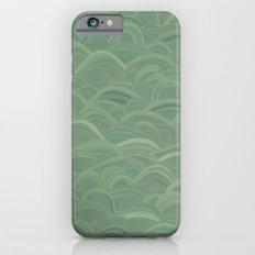 just waves aqua Slim Case iPhone 6s