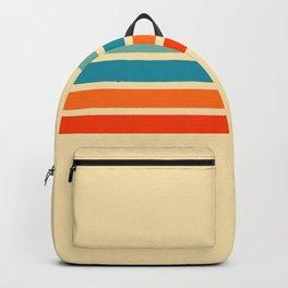 Ienao - Classic 70s Retro Stripes Backpack