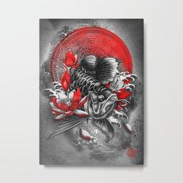 Arowana  Dragon Fish Metal Print