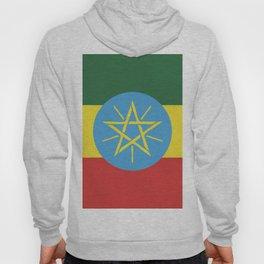 Ethiopia flag emblem Hoody