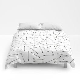 Arrow vintage pattern Comforters