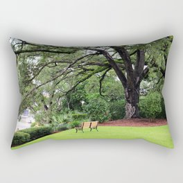 Lovely Spot To View The Sampit River Rectangular Pillow