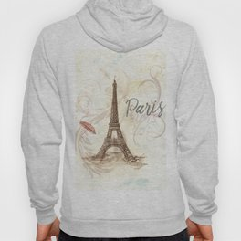 The Eiffel Tower ,-  Love in Paris Hoody