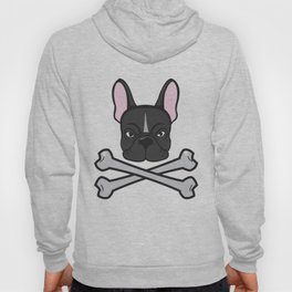 French Bulldog and Crossbones Hoody