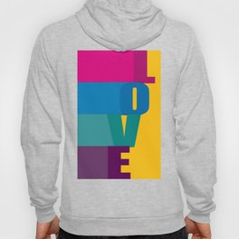 The love is colorful Hoody