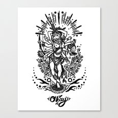 West Kali - Dark Canvas Print