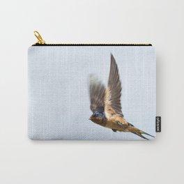 Male barn swallow in flight Carry-All Pouch