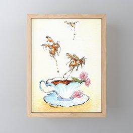 Honey from the Bees Framed Mini Art Print