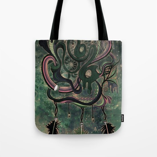 The Dream Catcher: Old Hag's Bane Tote Bag