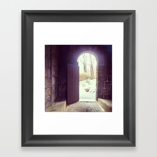 In or Out Framed Art Print