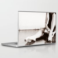 ballerina Laptop & iPad Skins featuring Ballerina by BamBam Photo