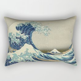 The Great Wave Rectangular Pillow