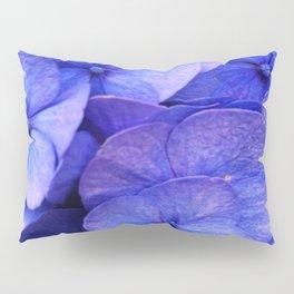 Hydrangea Dark flower pattern Pillow Sham