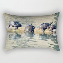 Sun Turtles Rectangular Pillow