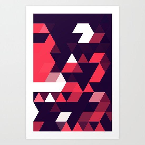 cyrysse lydy (flat version) Art Print