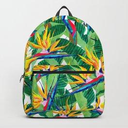 Summer Strelitzia Backpack