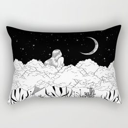 Moon River Rectangular Pillow