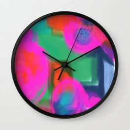 Dreamed Garden 5 Wall Clock