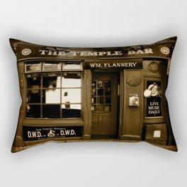 The Temple Bar Rectangular Pillow