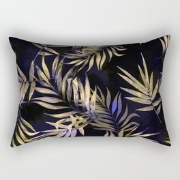 Golden Tropics Rectangular Pillow