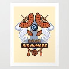 Avatar Nations Series - Air Nomads Art Print