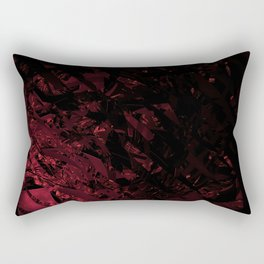 Surreal abstract fractal looks like shatters. Rectangular Pillow