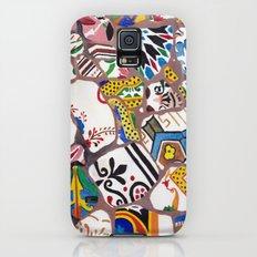 Gaudi tiles Barcelona Galaxy S5 Slim Case