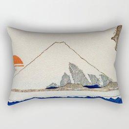 The Coast Searching Rectangular Pillow