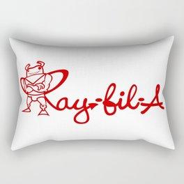 Ray Fillet's Ray-fil-A Rectangular Pillow