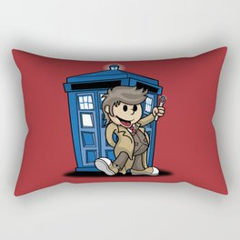 Vintage Who Rectangular Pillow