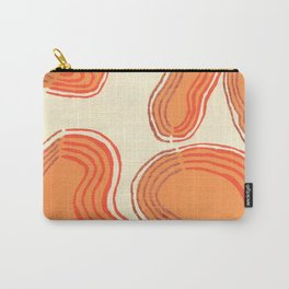 Orange Abstract No.1 Carry-All Pouch