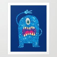 Peace Monster Art Print