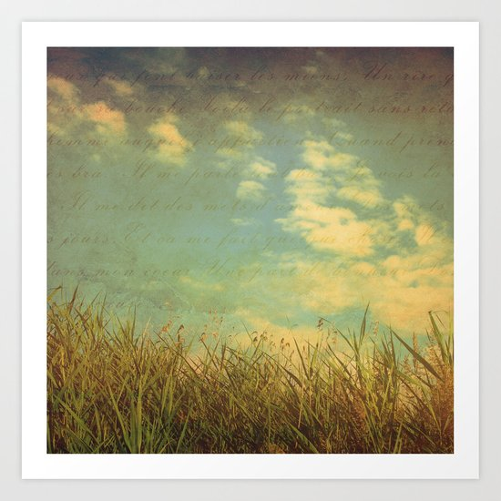 Summer's Fading Art Print