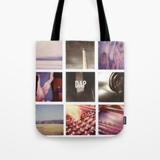 resonances collage Tote Bag