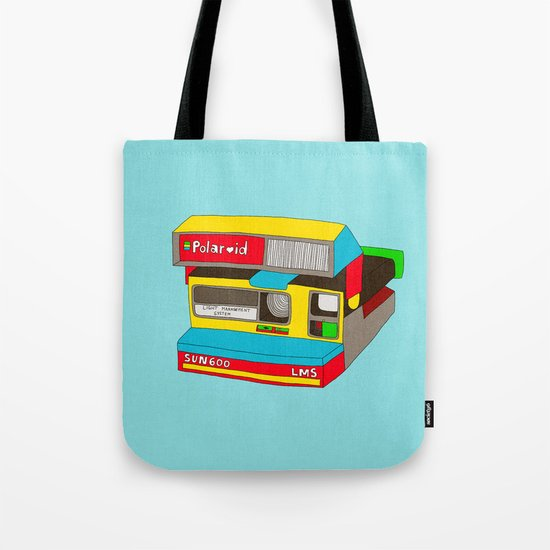 Captures Great Moments (color toy) Tote Bag