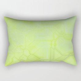 future fantasy radioactive Rectangular Pillow