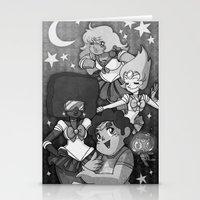 sailormoon Stationery Cards featuring SU SailorMoon by Ravenno