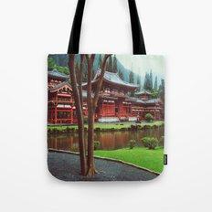 Byodo-In Temple Tote Bag