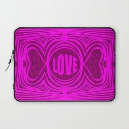 heartcenter1 pink Laptop Sleeve
