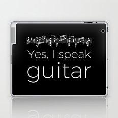 Speak guitar? Laptop & iPad Skin