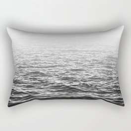 Water Minimalism Photography Sea Waves and Ocean Rectangular Pillow