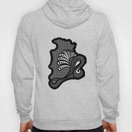paisley DECO syndrone Hoody