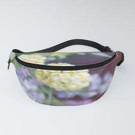 Garden blured flowers Fanny Pack